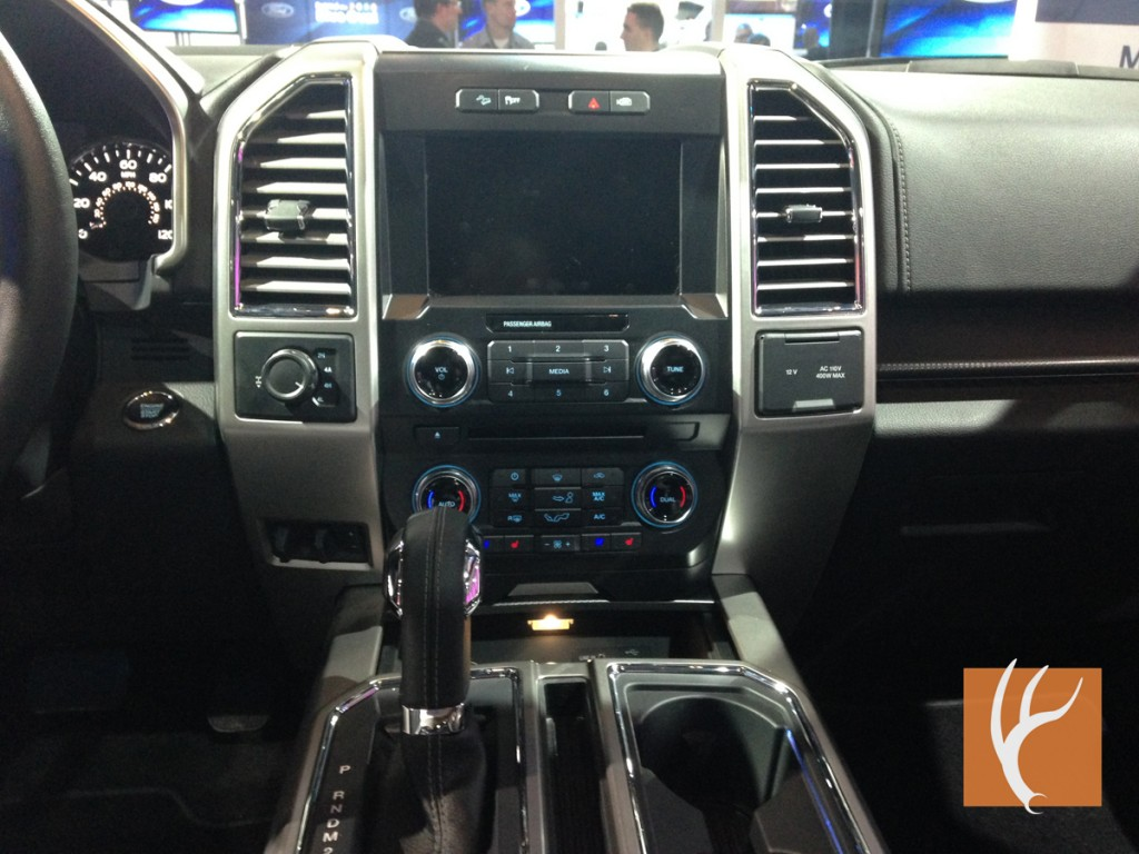 2015,F150,F-150,Dash,Instrument,Dashboard,Screen,Shifter,Console
